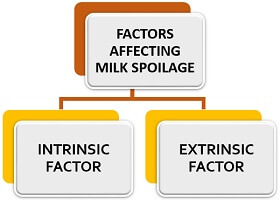 factors affecting milk spoilage