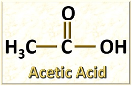molecular formula of acetic acid
