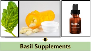 basil supplements