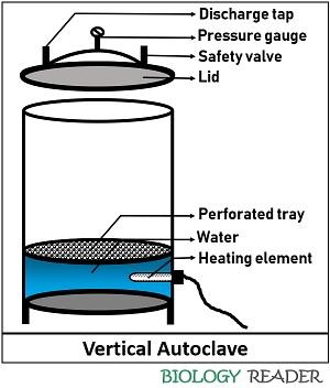 components of an autoclave
