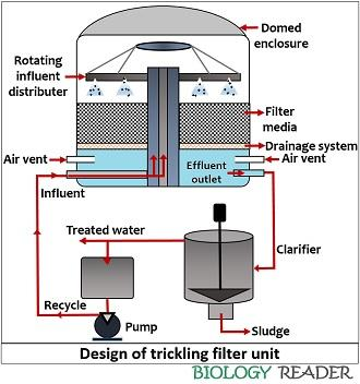 design of trickling filter