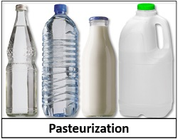 pasteurized food items